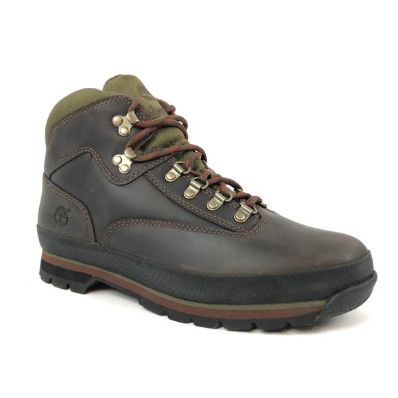 4d6337931cb Timberland Men's Euro Hiker Brown Boots NWT
